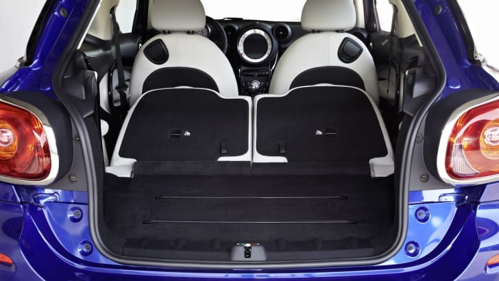 Mini Paceman - Seats Down