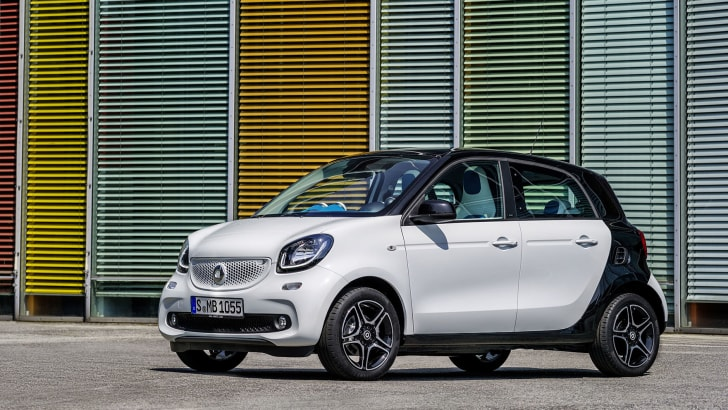 Smart ForFour front