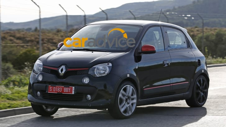 Renault Twingo RS Spied - 3