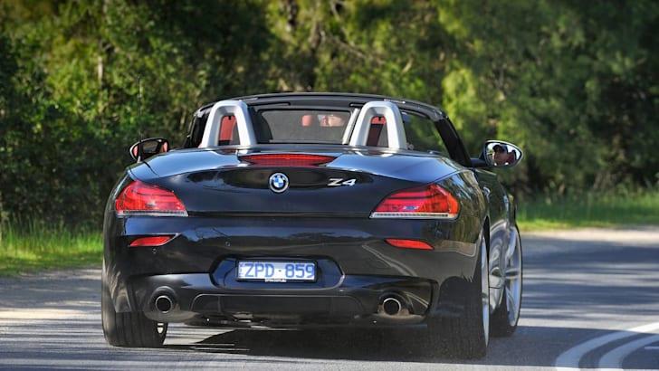 BMW Z4 35is rear driving