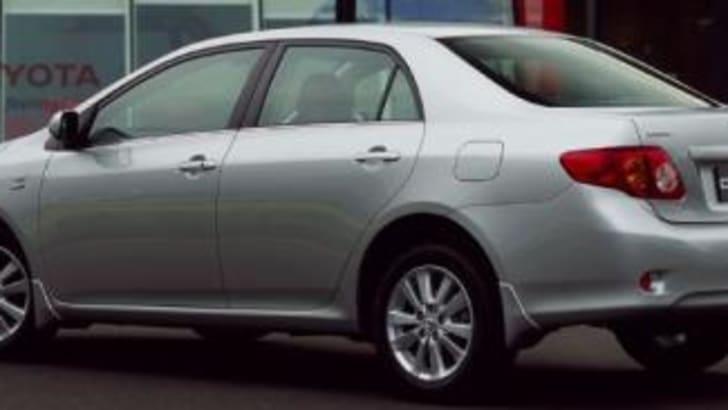 2007 Toyota Corolla Rear