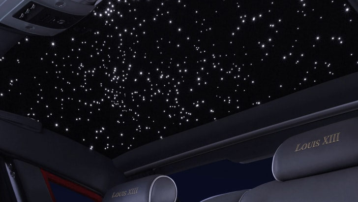 Rolls-Royce Phantom Louis XIII - starlight ceiling
