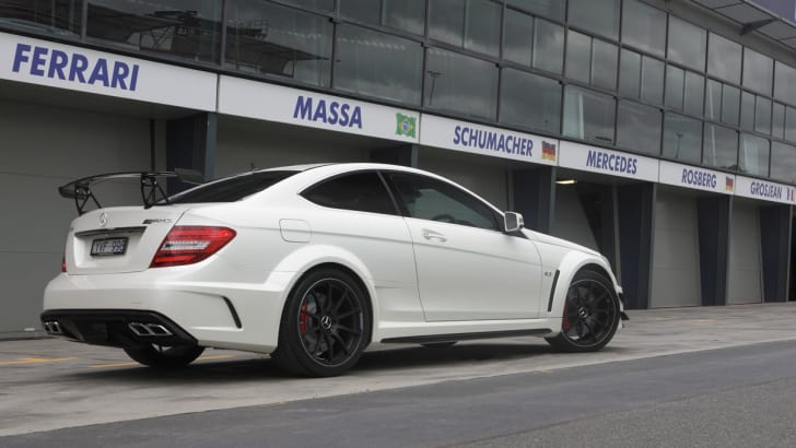 C63 Amg Black Series >> Mercedes Benz C63 Amg Coupe Black Series Unleashed Caradvice