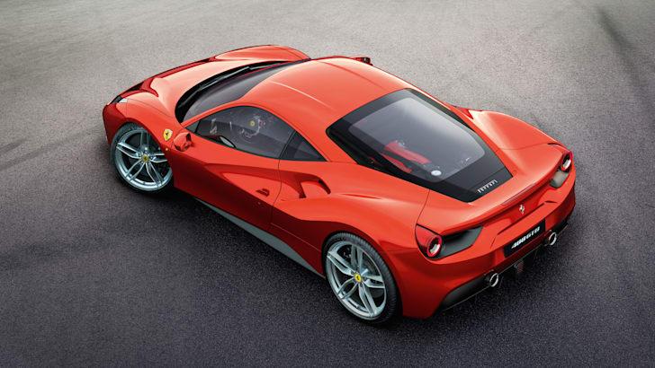 Ferrari 488 GTB overview