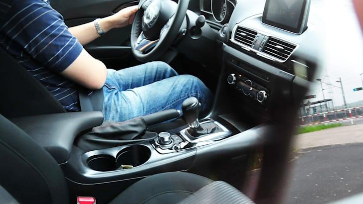 Mazda 3 spy interior