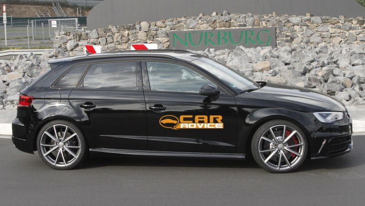 Audi RS3 Spied - 4