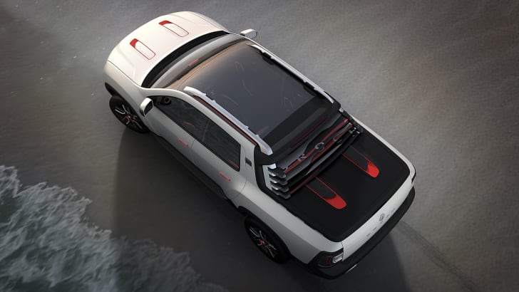Renault Duster Oroch concept - top