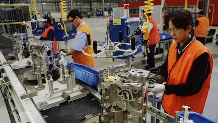 Global V6 Plant Assembly Line