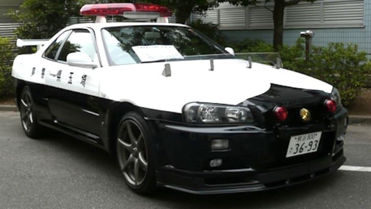 Nissan Skyline R34 GTR Police Car