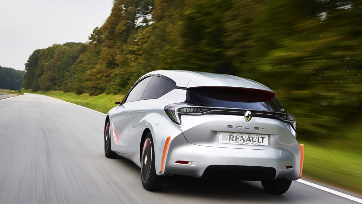 Renault Eolab concept car - rear