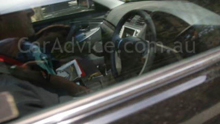 Toyota TRD Aurion SpyShots