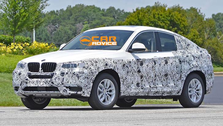BMW-X4-Spied