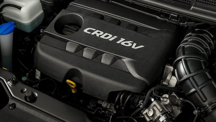 MY14 Kia Rondo 1.7L CRDi diesel engine.