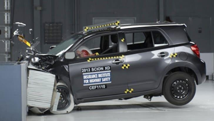 Scion xD IIHS Crash Test