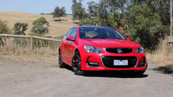 2016 Holden Commodore SS V Redline - Christmas Day 2015-20