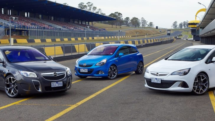 Opel OPC Range