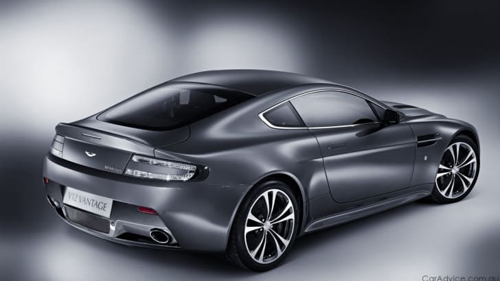 Aston Martin V12 Vantage early debut