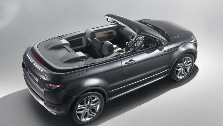 Range Rover Evoque Convertible Concept To Be Revealed At The  2012 Geneva Motor Show