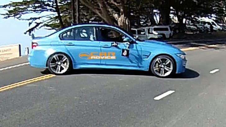 BMW M3 Spied Undisguised - 6