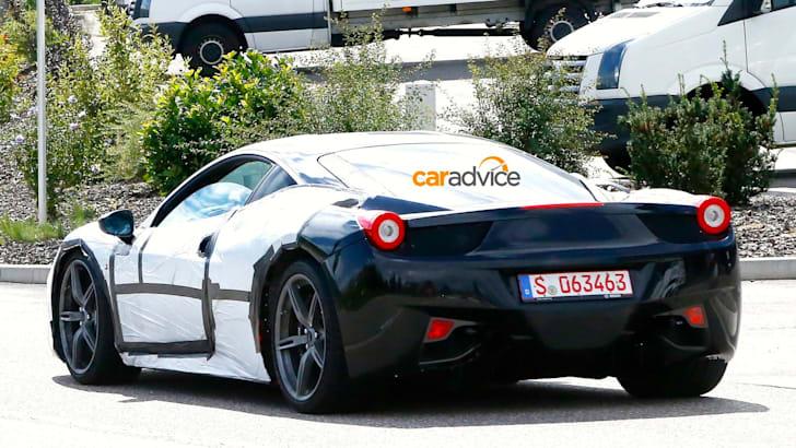 Ferrari 458 M spy shots_8