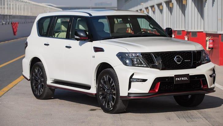 Nissan Patrol Nismo 2022 года засекли незамеченным | CarAdvice
