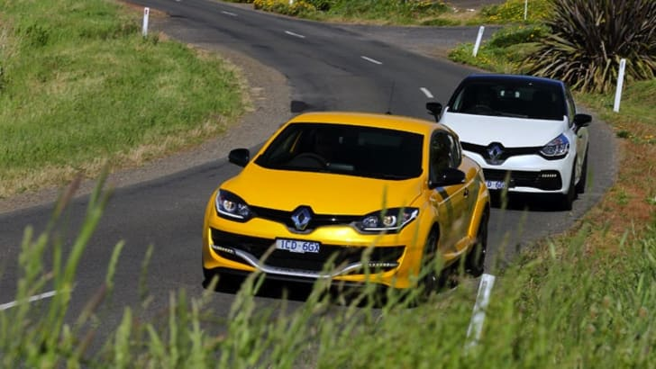 Renault Clio RS and Megane RS - 2