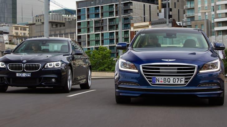 Hyundai Genesis v 5 Series opener potential