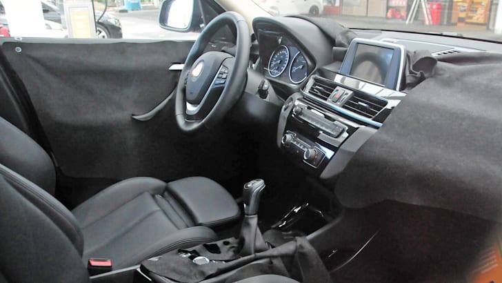 BMW X1 wider interior