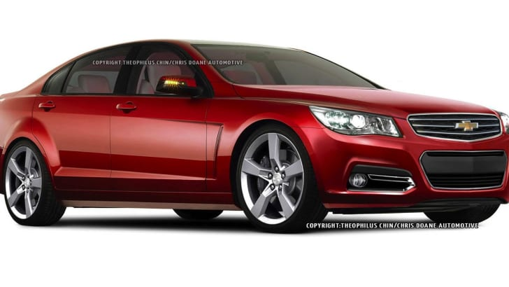 Holden VF Commodore/Chevy SS - Comgen