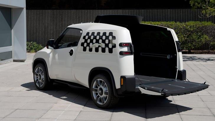 Toyota U2 Urban Utility concept - rear