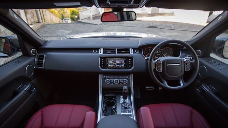 2016 Range Rover Sport SDV6 HSE Dynamic Interior