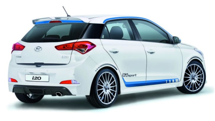 Hyundai I20 Sport Turbo Three Cylinder For German Market
