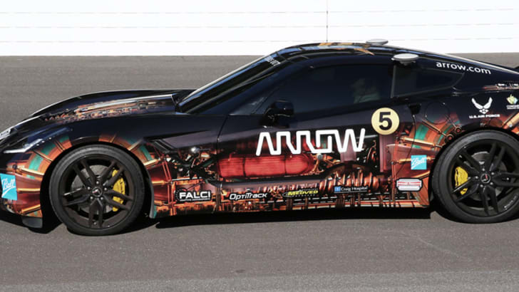 SAM (semi-autonomous motorcar) Chevrolet C7 Corvette