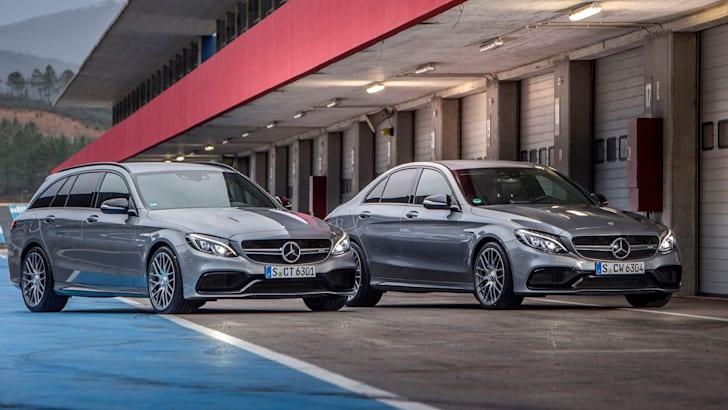 Mercedes-AMG C 63 S und Mercedes-AMG C 63 S T-Modell | Portimao 2015
