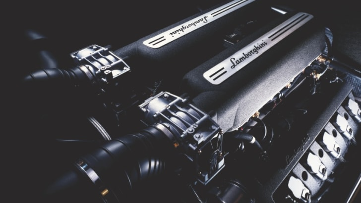 Lamborghini Gallardo Coupe - Engine