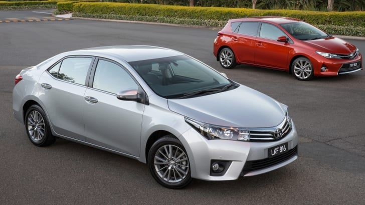 2014 Toyota Corolla Sedan ZR and Corolla Hatch Levin ZR