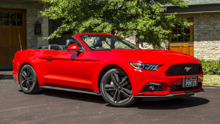 2016 Ford Mustang Ecoboost Convertible-70