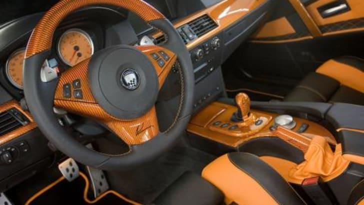 BMW M5 CLR 500 RS Interior