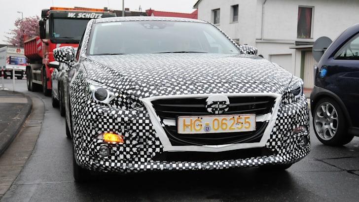 Mazda3 spy front