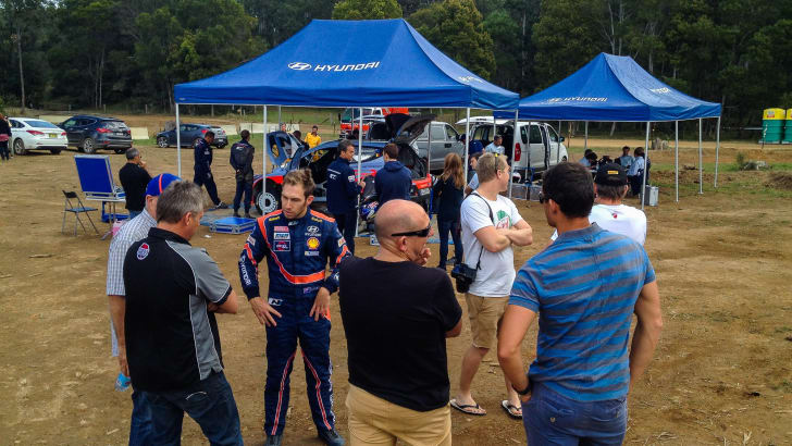 Hyundai i20 WRC hot laps with Chris Atkinson - 2