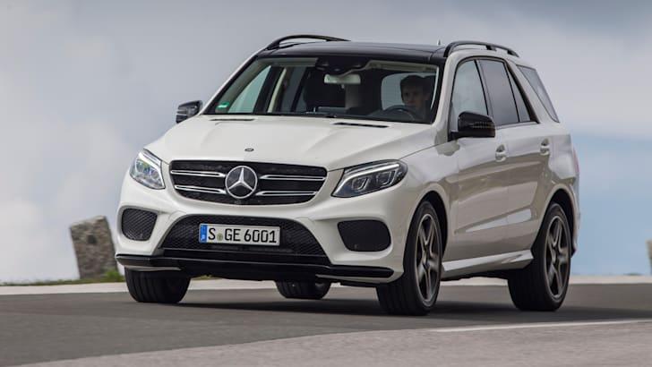 Mercedes Benz; GLE 400 4MATIC/ Kitzbühel 2015; designo diamantweiss bright; Nappa zweifarbig porzellan/ schwarz