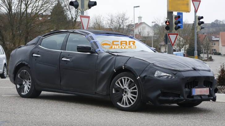 Maserati Ghibli Spied - 4