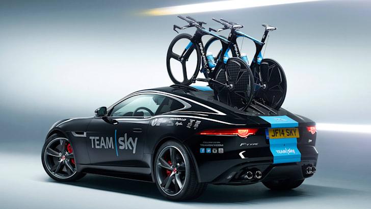 Jaguar F-Type Team Sky special rear