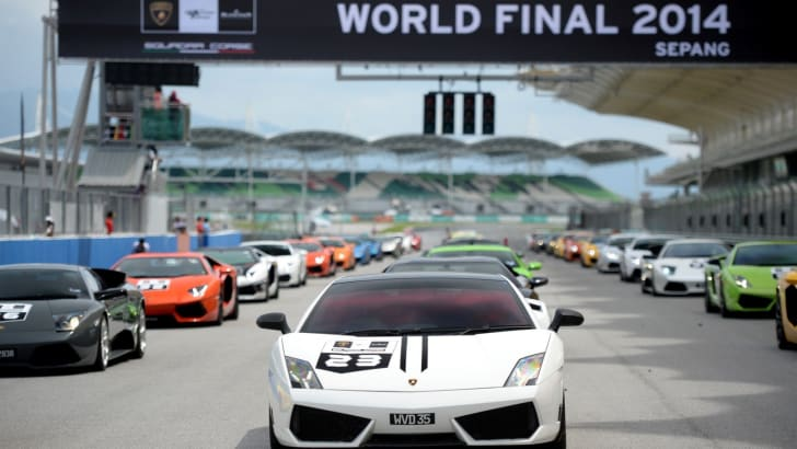 Lamborghini Super Trofeo Final Parade