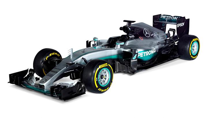 Mercedes F1-W07-Hybrid-2