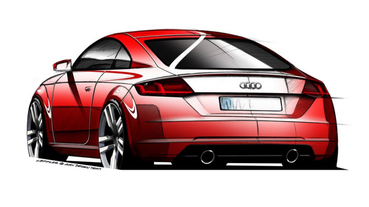 Audi TT skectch2
