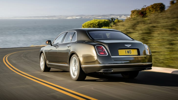 Bentley Mulsanne Speed - rear