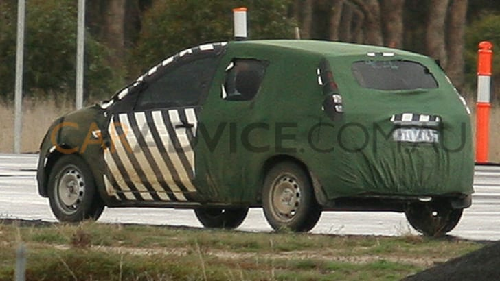 Ford small Verve based car spy photos