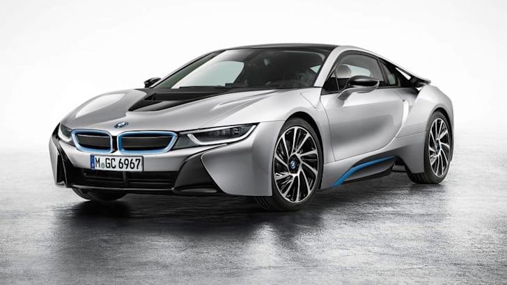 BMW i8 studio front side
