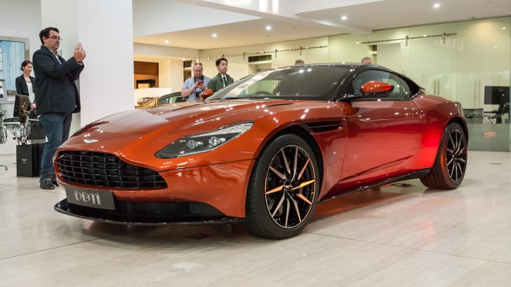 2017 Aston Martin DB11 Reveal-16